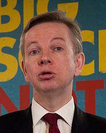 Michael Gove, Secretary of Education - not a modernist
