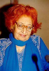 Qurratulain Hyder - she writes in Urdu