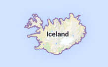 Iceland - it's not very big