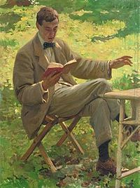 Munnings as portrayed by Harold Knight