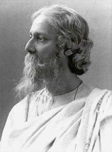 Tagore - the only non-US/European writer in the top 50