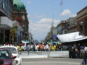 Protests in Oaxaca in 2006