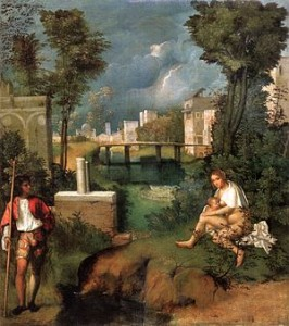 Giorgione's The Tempest
