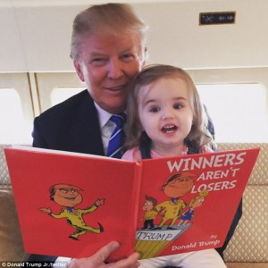 Can Donald read?